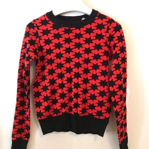 Urban Outfitters x Alice Sweater Stars XS NWT